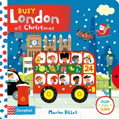 Book cover for Busy London at Christmas